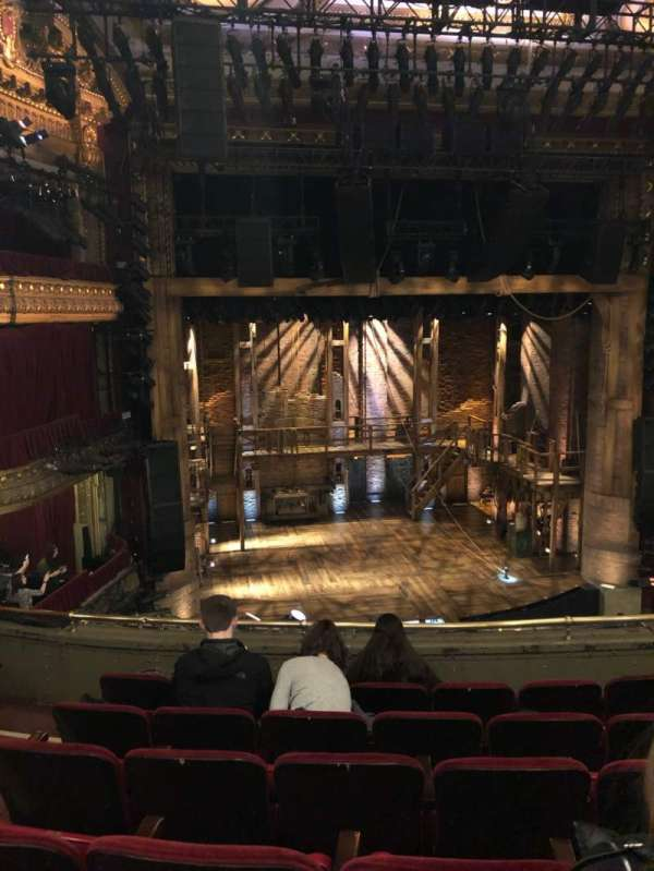 CIBC Theatre, section: Mezzanine lc, row: F, seat: 319