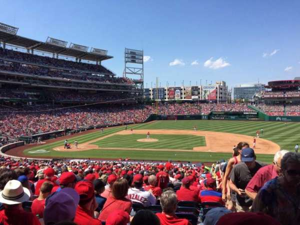 Nationals Park, section: 129, row: UU, seat: 1