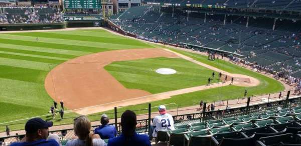 Wrigley Field, section: 307L, row: 7, seat: 23 and 24