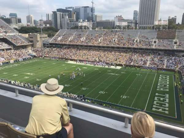 Bobby Dodd Stadium, section: 202, row: 3, seat: 15