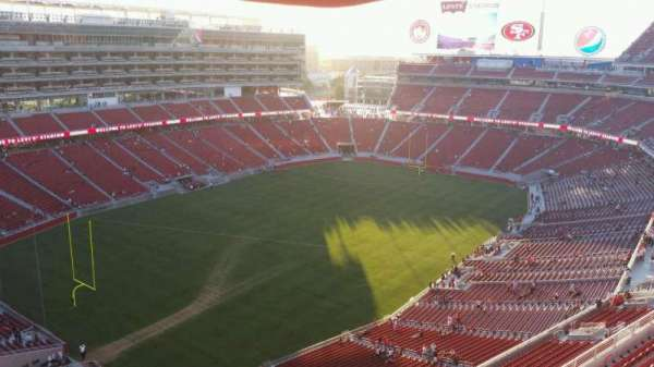 Levi's Stadium, section: 419, row: 5, seat: 17