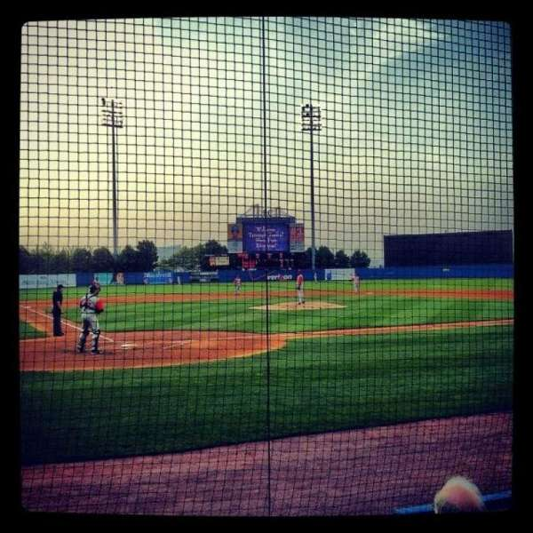 Richmond County Bank Ballpark, section: 10, row: D, seat: 5
