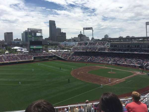 TD Ameritrade Park, section: 323, row: E, seat: 14