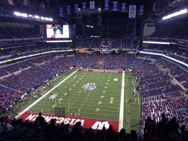 Lucas Oil Stadium, section: 625, row: 13, seat: 3