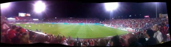 BMO Field, section: 121, row: 17, seat: 19