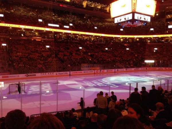 Scotiabank Arena, section: 121, row: 13, seat: 11
