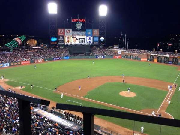 Oracle Park, section: VB319, row: A, seat: 11