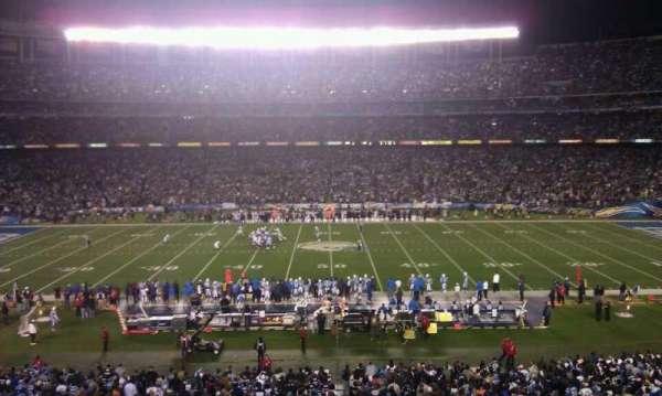 San Diego Stadium, section: P37