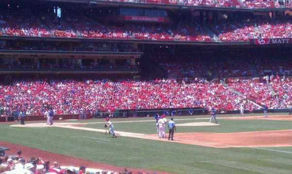 Busch Stadium, section: 137, row: 7, seat: 12