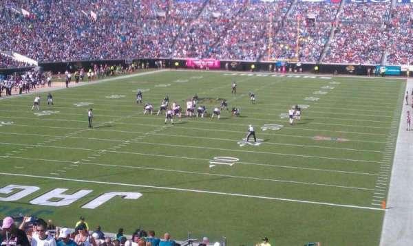 TIAA Bank Field, section: 146, row: ff, seat: 23