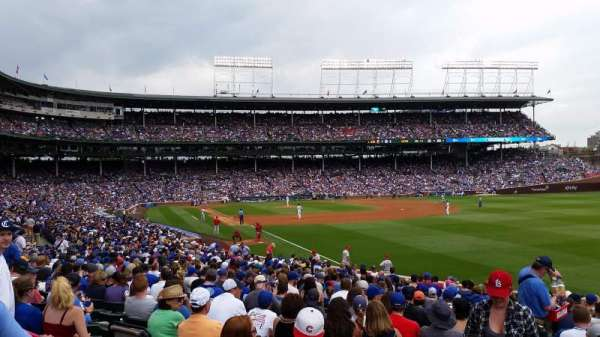 Wrigley Field, section: 232, row: 2, seat: 8
