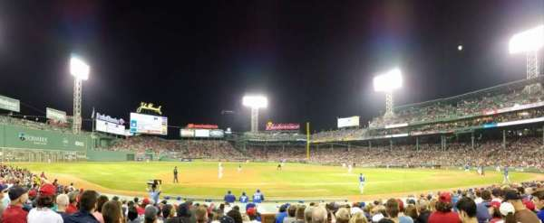 Fenway Park, section: Loge Box 150, row: AA