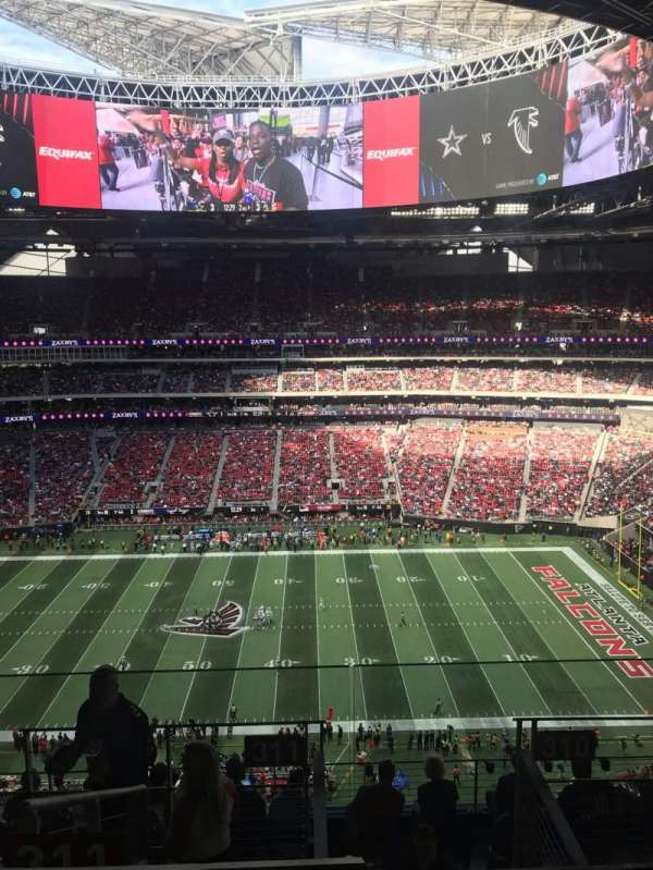 Mercedes-Benz Stadium, section: 311, row: 9, seat: 1