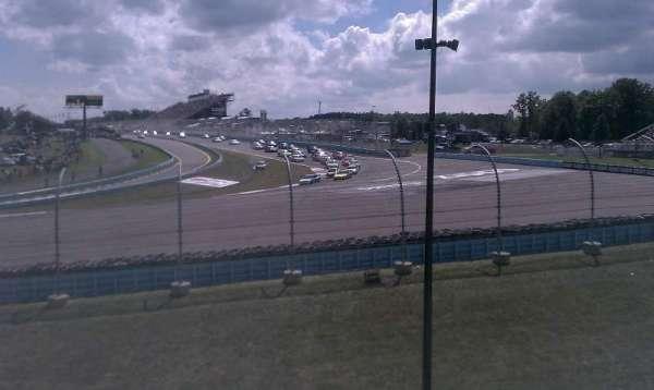 Watkins Glen International, section: Seneca Grandstand