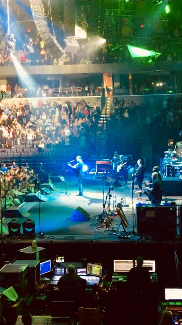 John Paul Jones Arena, section: 101, row: R, seat: 16