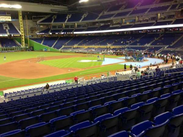 Marlins Park, section: 22, row: 14, seat: 21