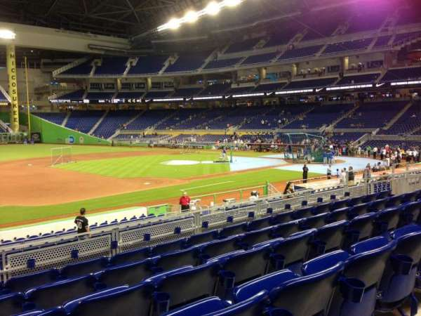Marlins Park, section: 22, row: 6, seat: 18