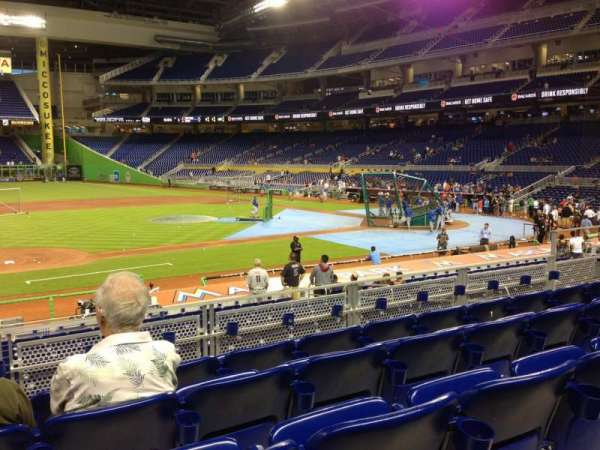 Marlins Park, section: 21, row: 5, seat: 12