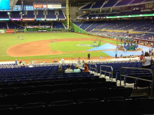 Marlins Park, section: 21, row: 21, seat: 4