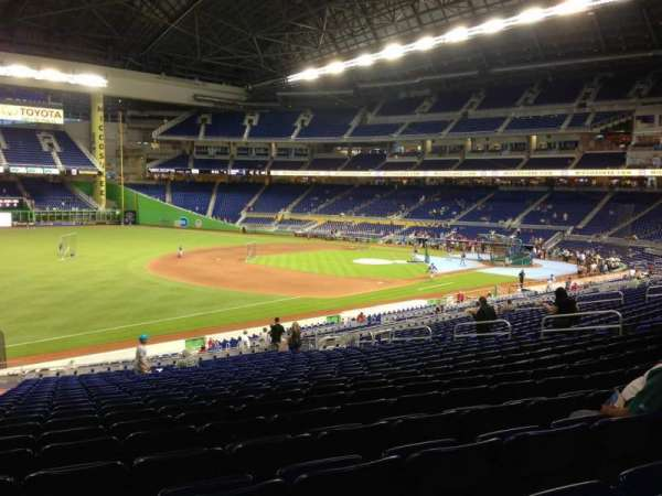 Marlins Park, section: 24, row: 23, seat: 22