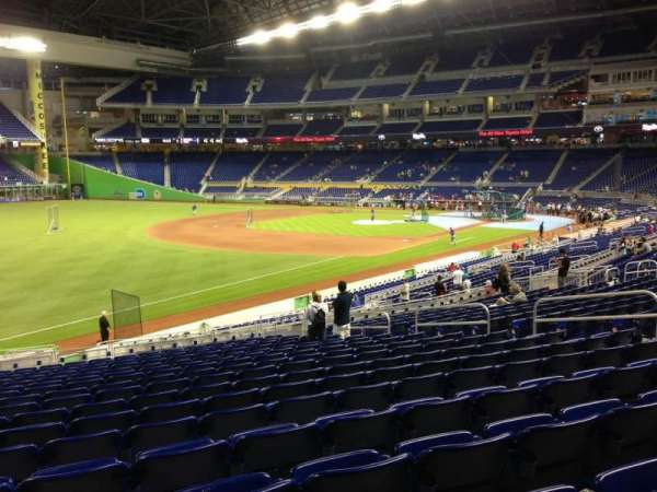 Marlins Park, section: 25, row: 17, seat: 14