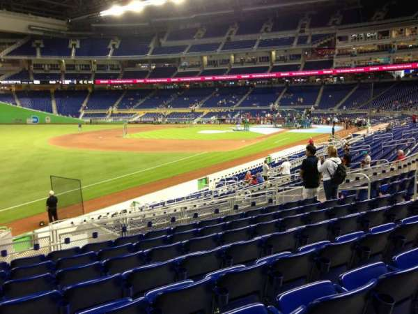 Marlins Park, section: 25, row: 8, seat: 15