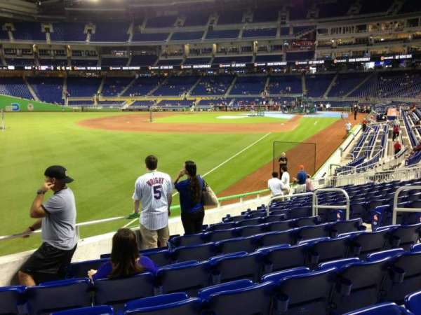 Marlins Park, section: 27, row: 5, seat: 8