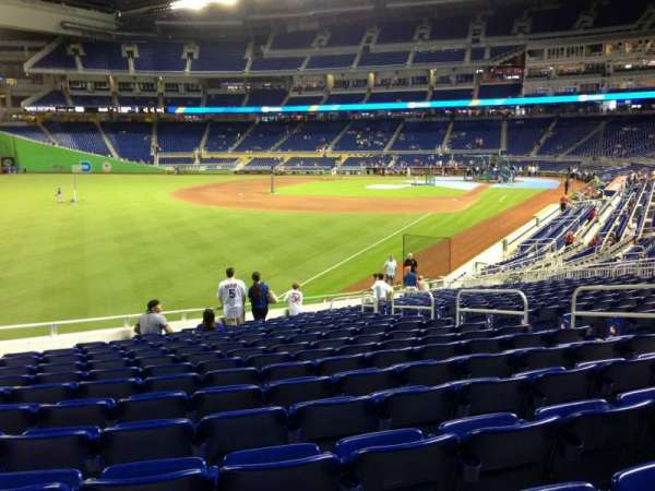 Marlins Park, section: 27, row: 13, seat: 9