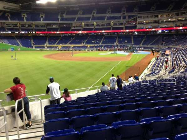 Marlins Park, section: 27, row: 13, seat: 19