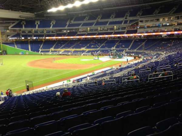Marlins Park, section: 25, row: 25, seat: 22