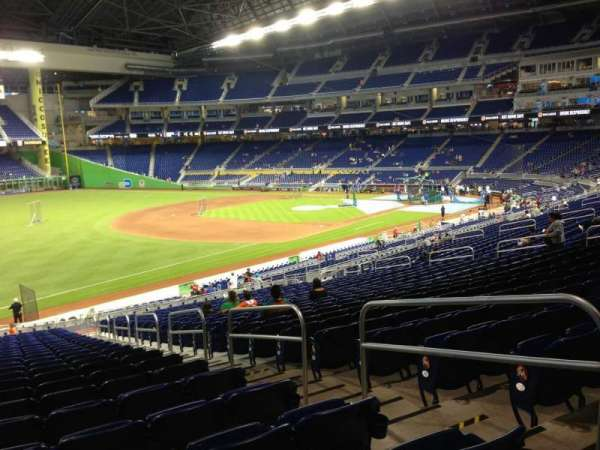 Marlins Park, section: 25, row: 25, seat: 4