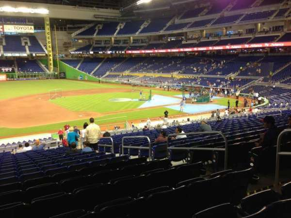 Marlins Park, section: 22, row: 21, seat: 6