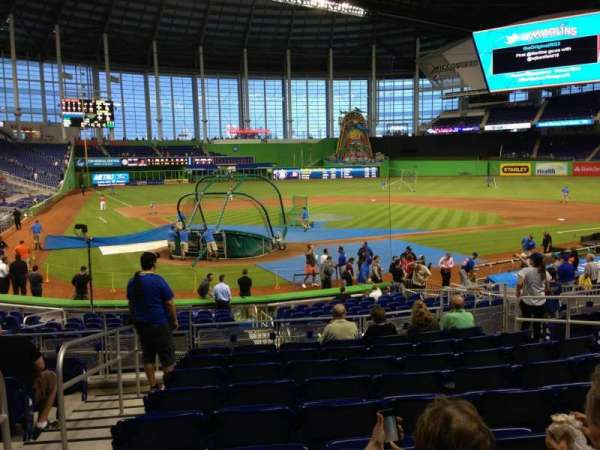 Marlins Park, section: 12, row: 4, seat: 9