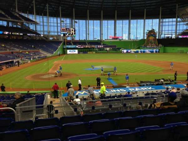 Marlins Park, section: 10, row: 6, seat: 19