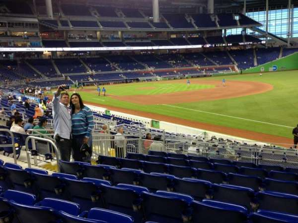Marlins Park, section: 4, row: 8, seat: 10