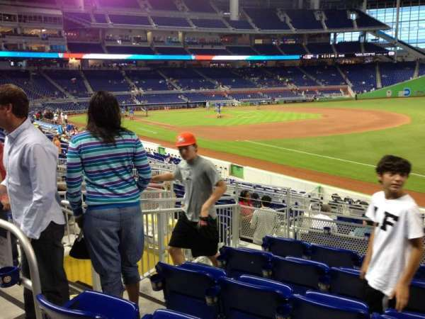 Marlins Park, section: 4, row: 6, seat: 14