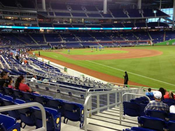 Marlins Park, section: 3, row: 5, seat: 14