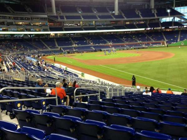 Marlins Park, section: 3, row: 11, seat: 11