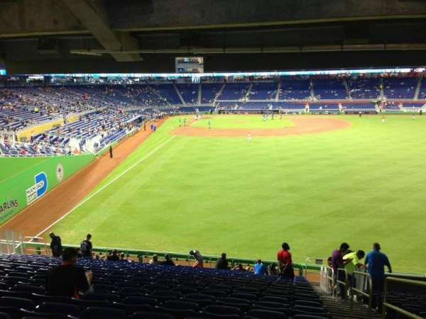 Marlins Park, section: 39, row: 13, seat: 1