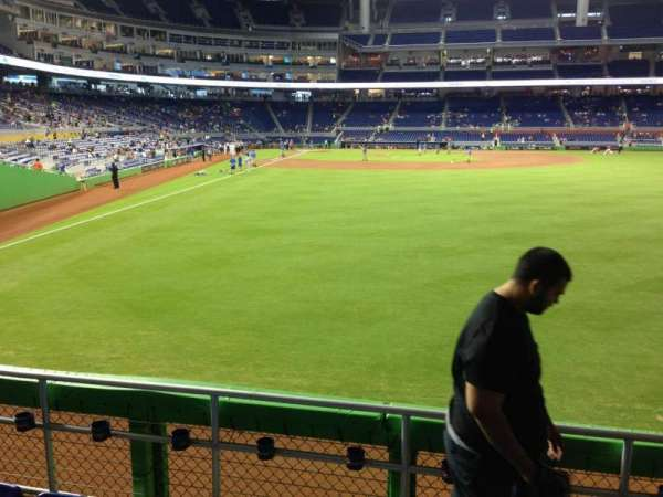 Marlins Park, section: 40, row: D, seat: 6