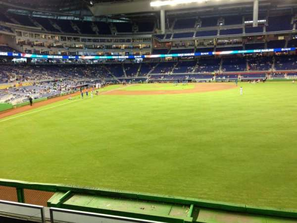 Marlins Park, section: 39, row: 2, seat: 4
