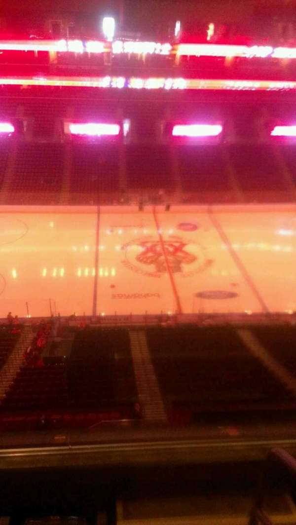 BB&T Center, section: 402, row: 2, seat: 1