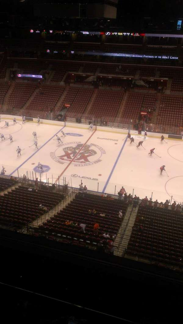BB&T Center, section: 317, row: 2, seat: 2