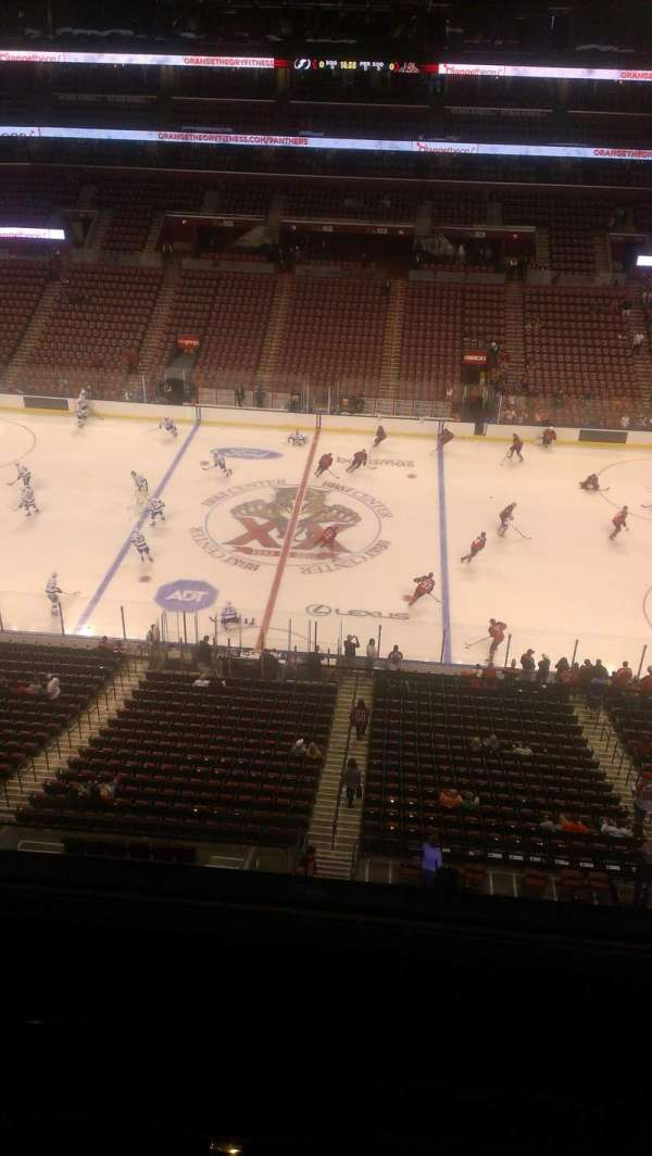 BB&T Center, section: 318, row: 2, seat: 2