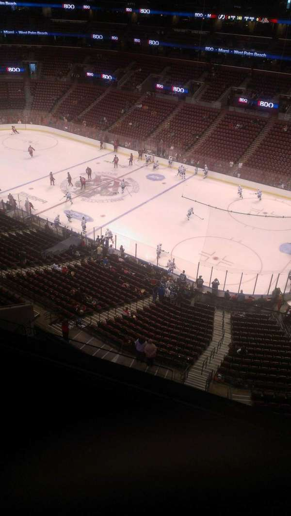BB&T Center, section: 332, row: 2, seat: 2