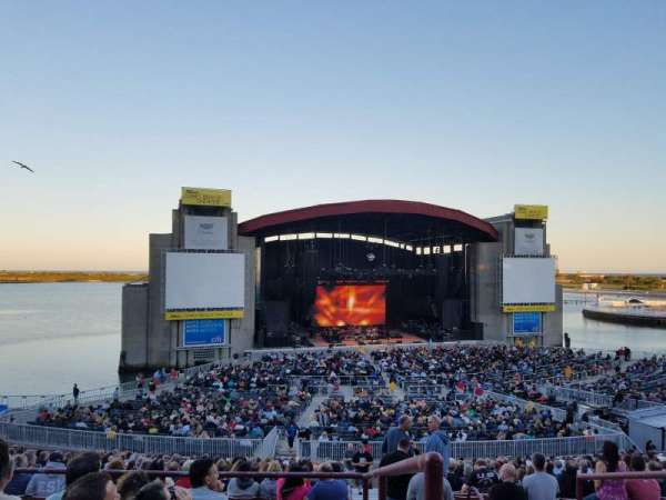 Jones Beach Theater, section: 12R, row: FF, seat: 1