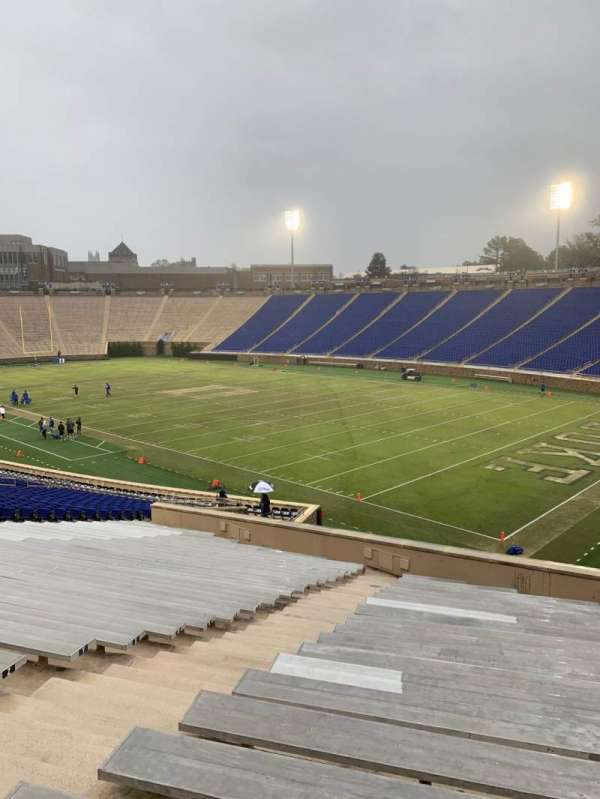 Wallace Wade Stadium, section: 32, row: EE, seat: 8