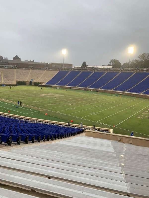 Wallace Wade Stadium, section: 31, row: CC, seat: 16