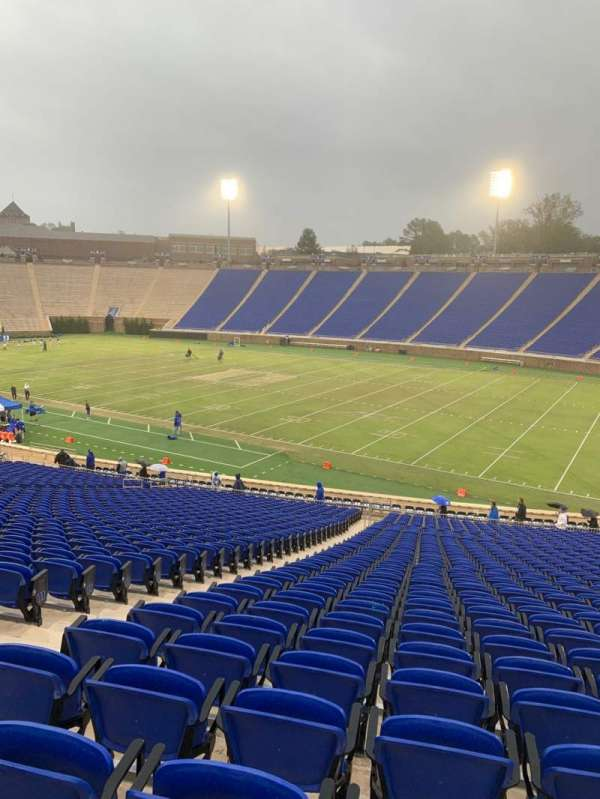 Wallace Wade Stadium, section: 30, row: FF, seat: 8