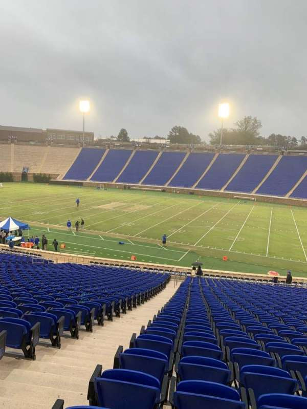 Wallace Wade Stadium, section: 29, row: CC, seat: 4